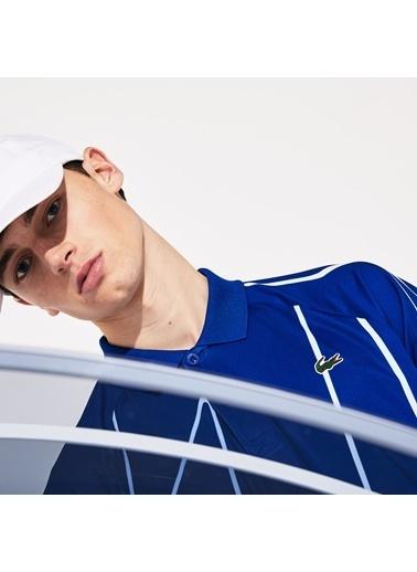Lacoste Erkek Sport Tişört DH6235.CSV Mavi